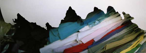 Untitled (clothes, mountain)